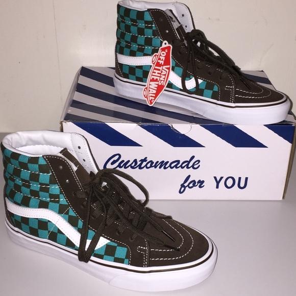 072436d1743 NWT Vans SK8-Hi Reissue 50th Checkerboard Ceramic